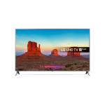 "LG 86UK6500PLA LED TV 86"" Ultra HD, WebOS 4.0 SMART, T2, Silver, Two pole stand"