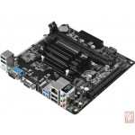 ASRock FT3 QC5000M-ITX/PH, AMD A4-5000 Quad-Core 1.5GHz with Radeon HD 8330 Graphics, PCI-Express x16, 2xDDR3, SATA3, VGA/HDMI, mini-ITX