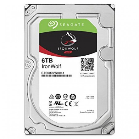 Seagate 6TB Ironwolf 128MB SATA3 ST6000VN0041