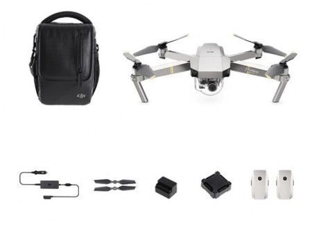 DJI DRON MAVIC Pro Fly More Combo Platinum