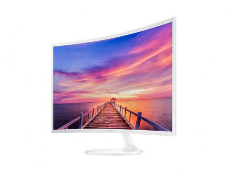 "Samsung LCD 31.5"" C32F391FWUX VA Panel Full HD HDMI, Display port Audio out curved"