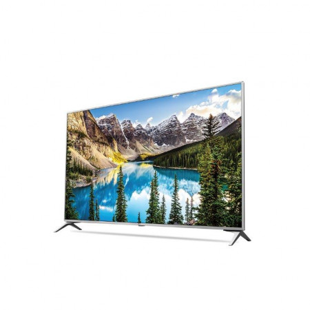 "LG 60UJ6517 LED TV 60"" Ultra HD, WebOS 3.5 SMART, T2, Silver, Two Pole stand"