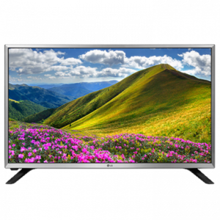 "LG 32LJ590U LED TV 32"" HD Ready, WebOS 3.5 SMART, T2, Silver, Two pole stand"