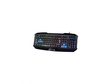 GENIUS K215 Scorpion Gaming USB YU crna tastatura