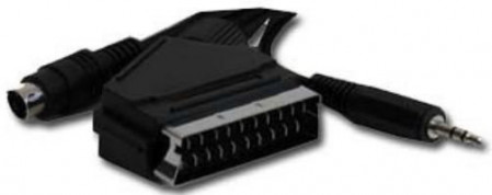 Gembird SCART plug to S-Video+audio kabl 5m (CCV-4444-5M)