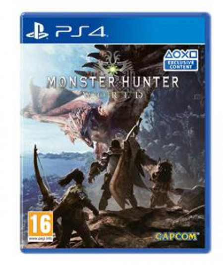 Capcom PS4 Monster Hunter World