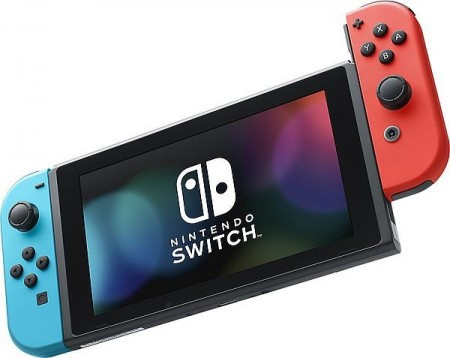 Nintendo Switch Console (Red and Blue Joy-Con) ( )