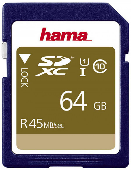 Hama SDXC 64GB 45MB/s