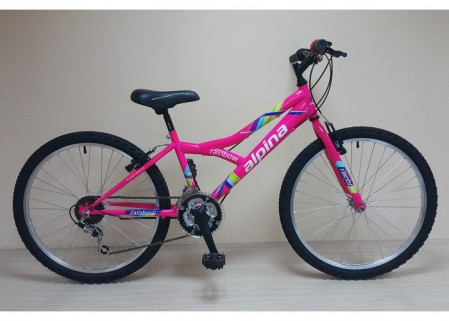 Alpina Rainbow MTB Junior 24 Pink 2017