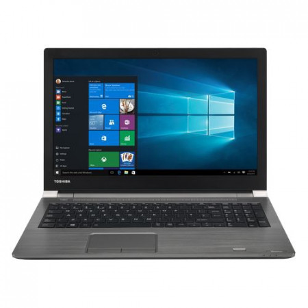"Toshiba TECRA A50-C-1ZR, 15.6"" LED (1366x768), Intel Core i5-6200U 2.3GHz, 4GB, 500GB HDD, Intel HD Graphics, DVDRW, Win 10 Pro, dark silver"