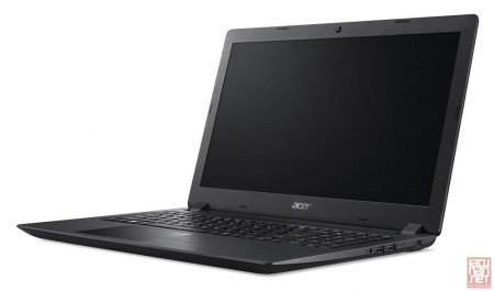 "ACER Aspire A315-51-30QJ, 15.6"" FullHD (1920x1080), Intel Core i3-6006U 2.0GHz, 4GB, 128GB SSD, Intel HD Graphics, noOS, black (NX.GNPEX.038)"