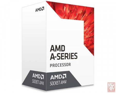 AMD A10-9700, 4 Core (3.5GHz/3.8GHz turbo), 2MB L2 cache, 28nm, 65W, Radeon R7 Graphics (AM4)