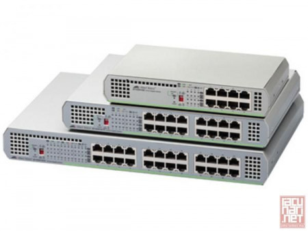 Switch Allied Telesis AT-GS910/8E, 8x10/100/1000Mbs
