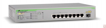 Switch Allied Telesis AT-GS900/8PS, Gigabit Ethernet POE+ Switch, 1xSFP