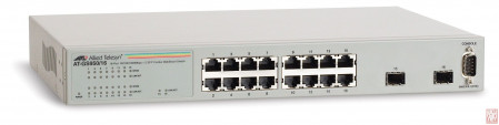 Switch Allied Telesis AT-GS950/16, 10/100/1000T x 16 ports WebSmart switch with 2 combo SFP ports