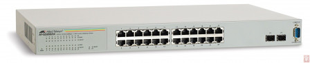 Switch Allied Telesis AT-GS950/24, 10/100/1000T x 24 ports WebSmart switch with 4 combo SFP ports