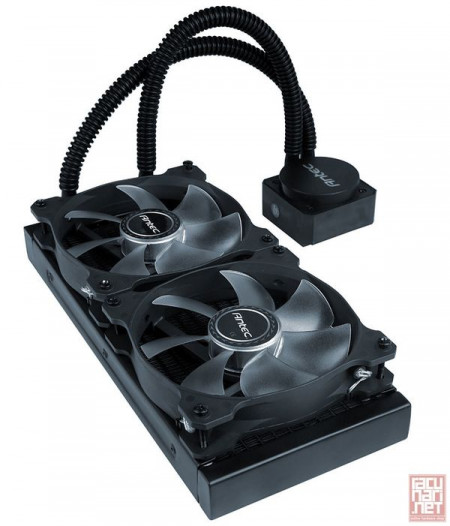 Antec KUHLER H1200 Pro, CPU water cooling system, 120mm, AM2, AM2+, AM3, AM3+, FM1, FM2, 775, 1150, 1151, 1155, 1156, 1366, 2011