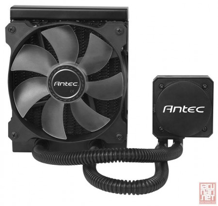Antec KUHLER H600 Pro, CPU water cooling system, 120mm, AM2, AM2+, AM3, AM3+, FM1, FM2, 775, 1150, 1151, 1155, 1156, 1366, 2011