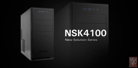 "Antec NSK 4100 NEW SOLUTION SERIES, ATX, 2x5.25"", 7x3.5"", 1x2.5"", 1x120mm, USB3.0"