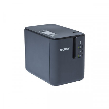 Brother PT-P900W, Desktop, Tze,HG,Hse,FLe tapes 3.5 to 36 mm, High speed up to 60mm/s, Wi-Fi&Wireless, Die Cut Label Option, Print Height 32 mm(36mm tape), AC power cord, Tape Cassette