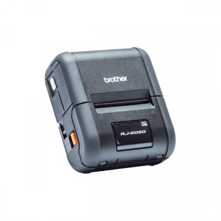 Brother RJ-2050, Rugged Mobile Printer, Direct Thermal, 203dpi, Integrated LCD screen, USB/Bluetooth/Wi-Fi