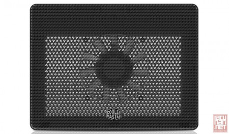 """CoolerMaster Notepal L2, notebook cooler up to 17"""", 160mm/1400rpm/29dBA, Black (MNW-SWTS-14FN-R1)"""