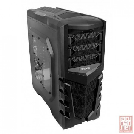 "Antec GX505 Window, GX Series, ATX, 2x5.25"", 4x3.5"", 1x2.5"", USB3.0, 1x120mm"