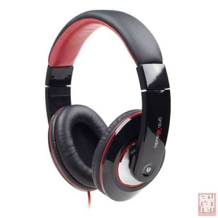 Gembird MHS-BOS, Stereo headphones with in-line microphone, 1.5m, 3.5mm