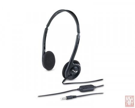 Genius HS-M200C, Lightweight PC Headset with microphone