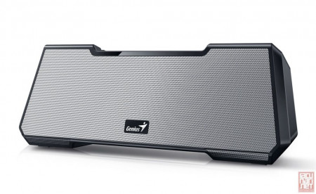 Genius MT-20, Bluetooth speaker, 15W RMS, rechargeable battery, 3.5mm, black/silver