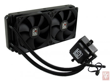 LC Power Cosmo LC-CC-240-LiCo, Liquid CPU cooler, 2x12cm, 800-2200RPM, Socket 1366/1150/1151/1155/1156/2011/2011-3, FM1/FM2/FM2+/AM2/AM2+/AM3/AM3+