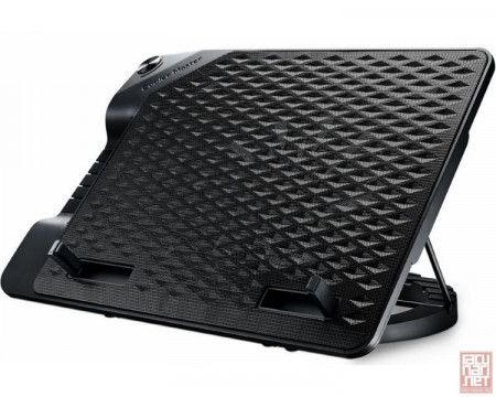 """CoolerMaster Notepal ERGOSTAND III, notebook/tablet cooler up to 17"""", 230mm fan/500-800rpm/21dBA (R9-NBS-E32K-GP)"""