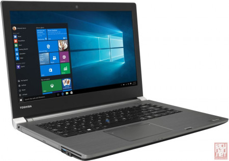 "Toshiba TECRA A40-C-1DG, 14"" FullHD LED (1920x1080), Intel Core i5-6200U 2.3GHz, 8GB, 500GB HDD, Intel HD Graphics, DVDRW, Win 10 Pro, dark silver"