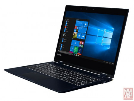 "Toshiba PORTEGE X20W-D-10Q, 12.5"" Touch FullHD LED (1920x1080), Intel Core i5-7200U 2.5GHz, 8GB, 256GB SSD, Intel HD Graphics, Win 10 Pro, dark blue"