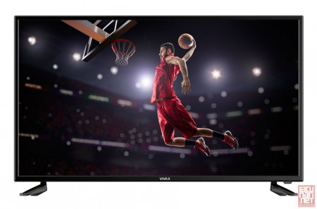 "40"" Vivax TV-40LE78T2S2SM, SMART FullHD LED, 1920x1080, 300cd/m, 5m/s, 3000:1, VGA/HDMI/USB/SCART/Wi-Fi"