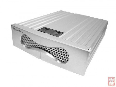"SilverStone FP53S, 5.25"" HDD cooler, Aluminium, Silver [24]"