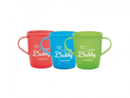 "Canpol baby solja sa ruckama 31/208 250ML ""I love mummy and daddy"""""