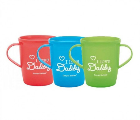 "Canlop baby solja sa ruckama 31/208 250ML ""I love mummy and daddy"""""