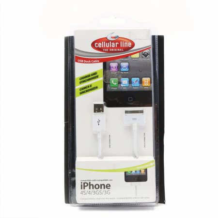 Dock Cellular Line za iPhone USB