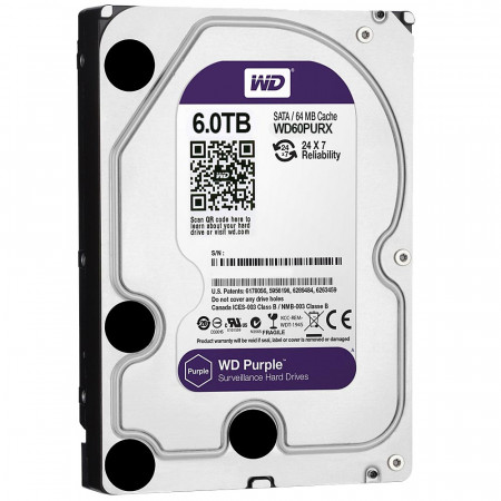Hard disk 6TB Western Digital Purple SATA