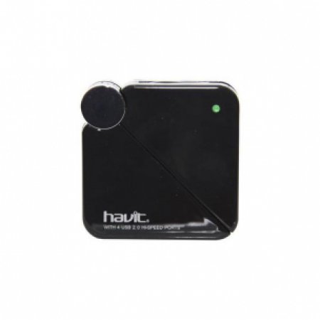 HAVIT HV-H80 USB HUB 4PORT USB2.0 BLACK