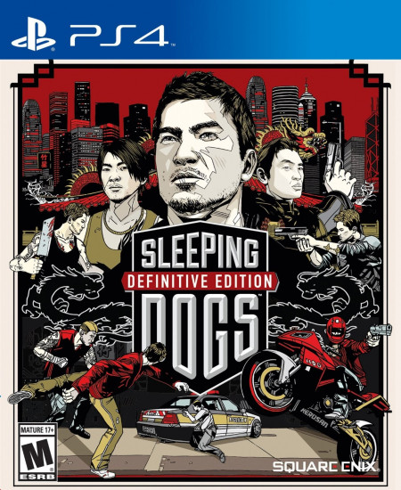 Square Enix PS4 Sleeping Dogs Definitive