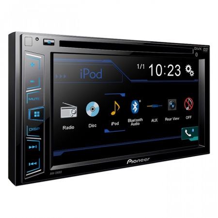 Pioneer AVH-290BT DVD multimedia risiver