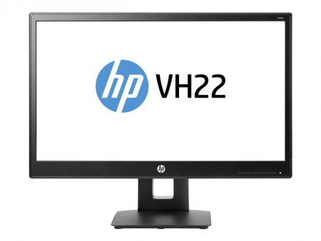 "HP VH22 (X0N05AA) 21"" Full HD 1920x10805ms D-Sub DVI-D DisplayPort Height Adjust Swivel Tilt Pivot Black"