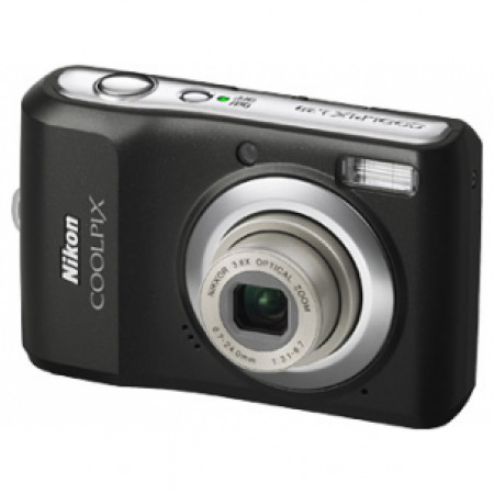 Nikon Coolpix L20 Black Metallic