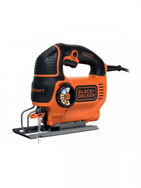 Black&Decker Ubodna testera 550W elektronska regulacija kofer KS801SEK