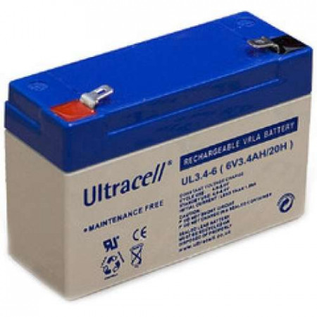 Ultracell Akumulator 6V 3.4Ah